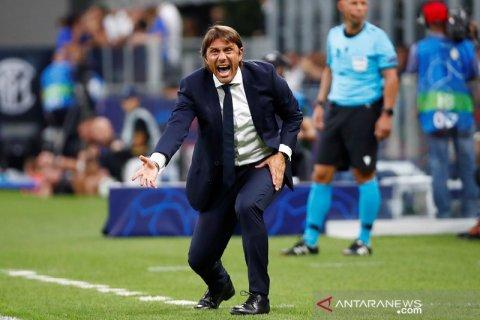 Conte pasang badan setelah Inter ditahan imbang lawan Slavia
