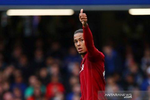 Van Dijk: Liverpool tak terbebani kejar gelar juara