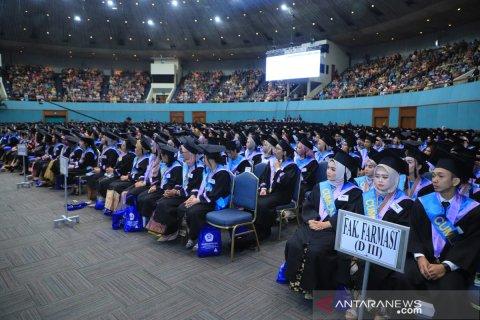 Wisudawan Universitas Pancasila