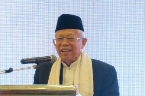 Ma'ruf Amin tegaskan  tetap menjabat Ketua Umum MUI