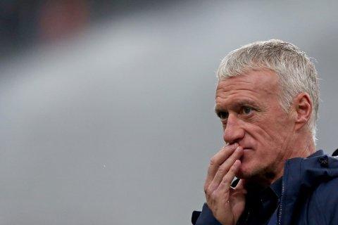 Deschamps sesalkan Prancis gagal  amankan kemenangan