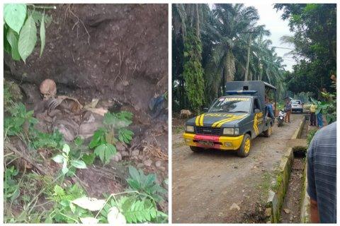 Warga Kuala Langkat temukan mayat sudah tinggal tengkorak