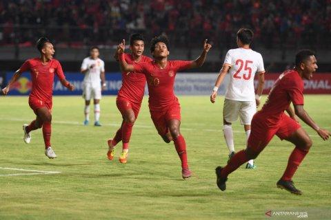 Timnas U-19 Indonesia pecundangi  China 3-1