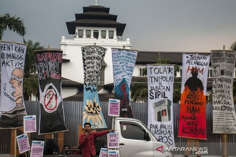 Aksi Damai Untuk Pemerintah Indonesia