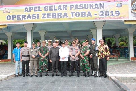 Wali Kota Binjai pimpin apel gelar pasukan Operasi Zebra Toba