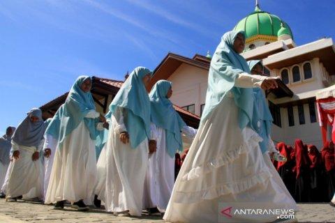 Peringatan Hari Santri Nasional di Aceh
