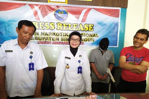 BNNK Simalungun ungkap kasus penyalahgunaan sabu di Sinaksak