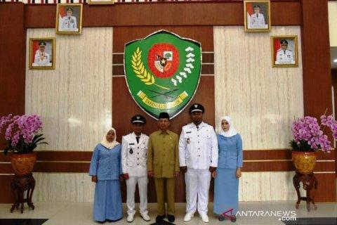 Dua kepala desa PAW di Tapanuli Selatan dilantik