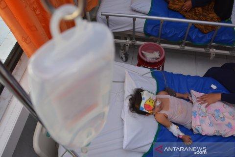Pasien DBD di Jombang