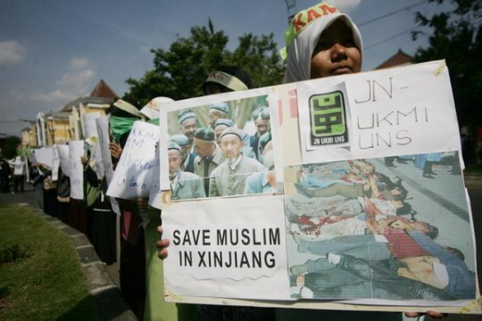 Ratusan pakar kutuk China atas pembangunan pusat penahanan di Xinjiang