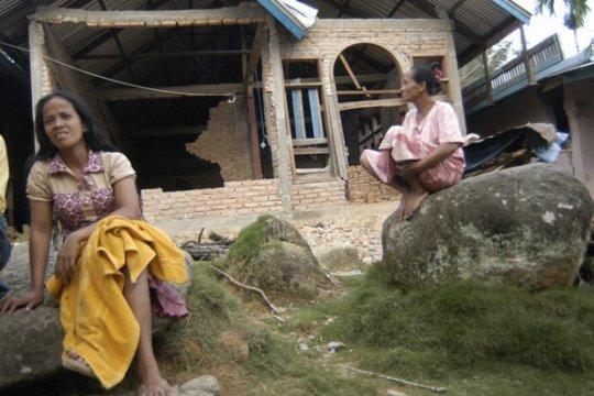Kabupaten Pesisir Selatan Sumbar dilanda gempa 4,1 SR
