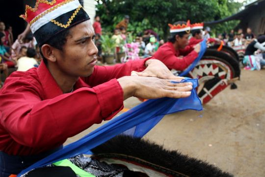 Festival kuda kepang meriahkan Hari Jadi Purbalingga