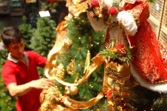 Pernak pernik natal mulai hiasi rumah warga Kaltara