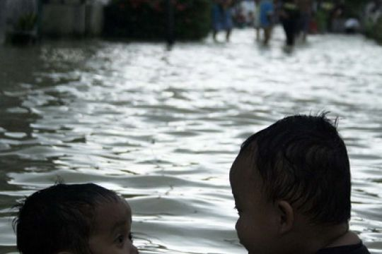 Banjir landa 21 kelurahan di Tebing Tinggi