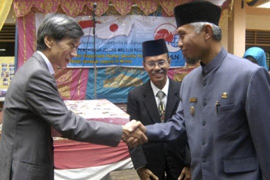 Jepang berikan bantuan pembangunan sekolah di Kediri