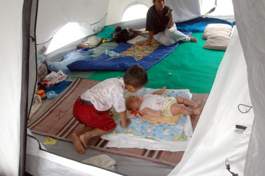 Selter untuk pengungsi anak harus diprioritaskan