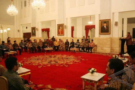 Presiden Harap Pertemuan Tokoh Agama Tenteramkan Rakyat