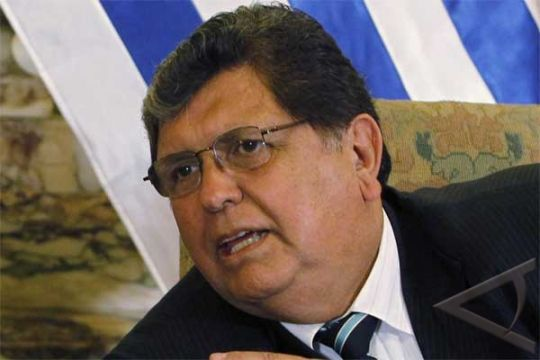 Mantan presiden Peru Garcia dikabarkan minta suaka ke Uruguay