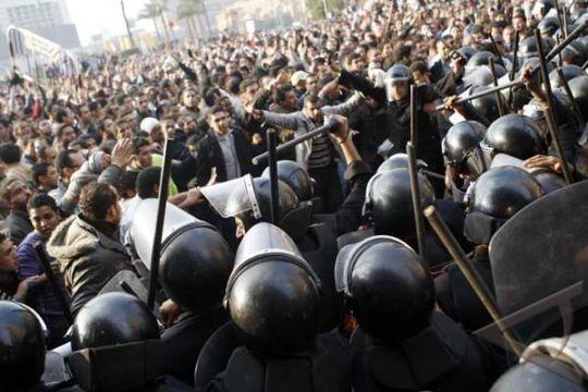 Mesir Makin Mencekam