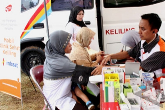 Mobil klinik Indosat sasar korban gempa Lombok
