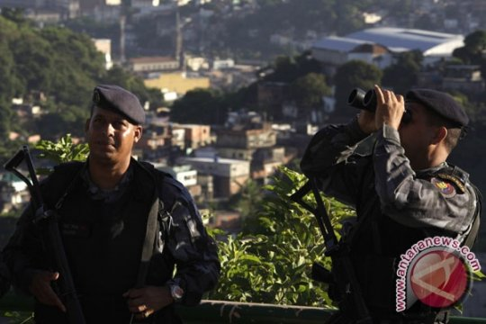 50 polisi Sao Paulo ditangkap terkait upeti kelompok obat bius