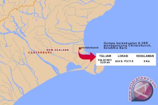 Selandia Baru digoyang gempa