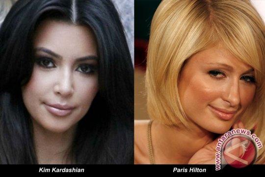Kim Kardashian dan Paris Hilton akrab lagi