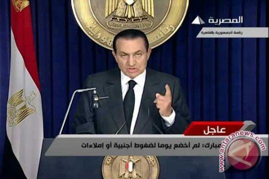 Mubarak Ditahan Untuk 15 Hari: Departemen Kehakiman