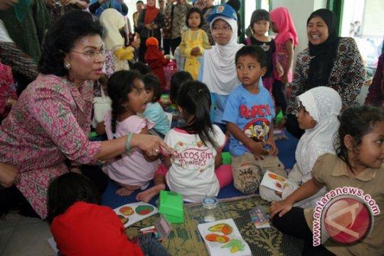 Linda Gumelar Resmikan Revitalisasi Posyandu Lereng Merapi