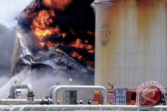 Kobaran Api Kilang Pertamina Semakin Membesar