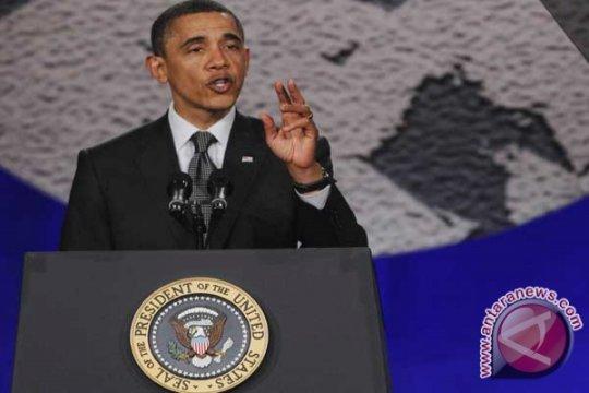 """Pemirsa Pidato Obama Tentang Kematian Osama Lampaui """"American Idol"""""""