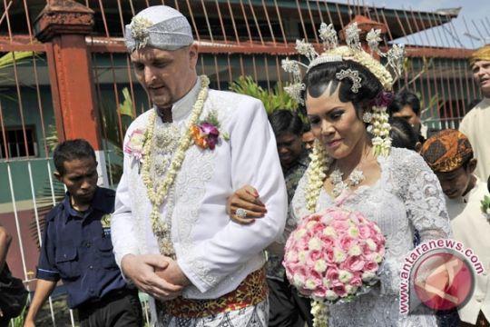 WNA Terpidana Seumur Hidup Nikah di Penjara Bali