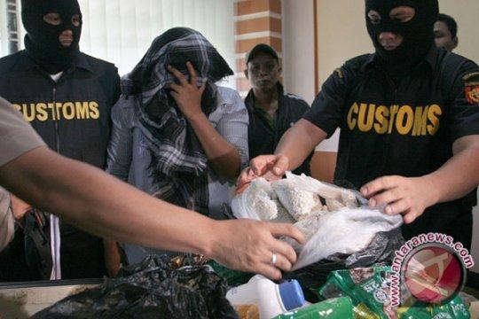 Penyelundupan Heroin 1,496 Kg Digagalkan