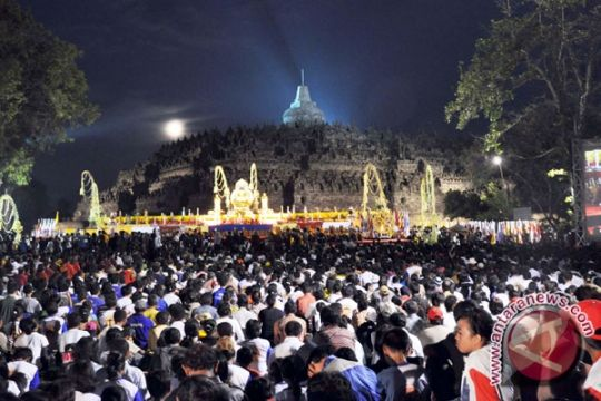 Perayaan Waisak di Berbagai Daerah Indonesia
