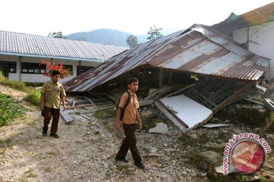 124 Ruang Sekolah Rusak Akibat Gempa Tarutung