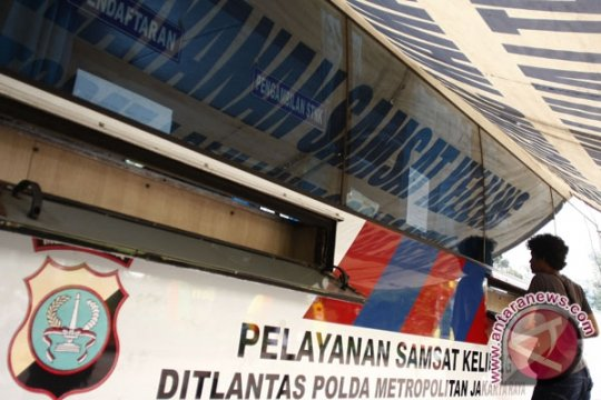 Lima lokasi pelayanan STNK keliling di DKI Jakarta hari ini