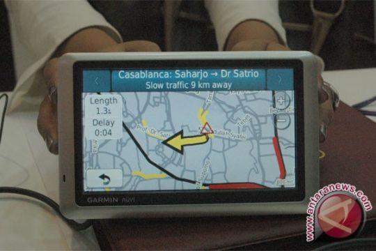 Polisi larang penggunaan GPS saat berkendara