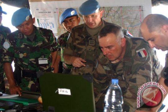 TNI dan Tentara Prancis Latihan Bersama di Lebanon