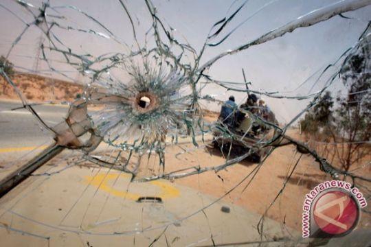 Pertempuran sengit berkecamuk di Benghazi, Libya