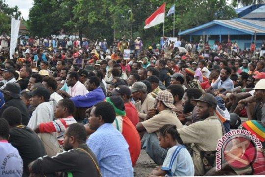 Gugat Pepera, Warga Papua Berkumpul di Timika Indah