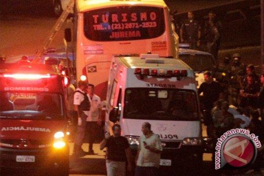 Polisi Brazil tembak mati pelaku pembajakan bus komuter