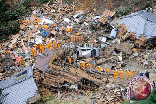 63 tewas akibat lumpur longsor di Hiroshima
