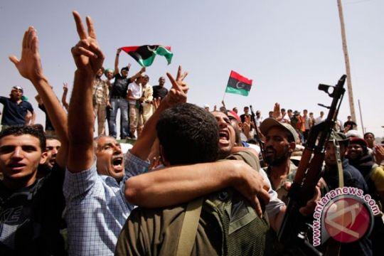 Oposisi Libya masuki kota pro-Gaddafi