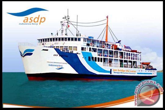 Lintasan penyeberangan kapal roro di Merak aman