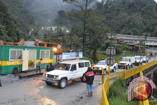 Pascapenembakan, PT Freeport tutup jalan ke Tembagapura
