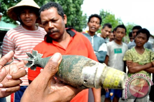 Polisi amankan mortir temuan warga di Sukabumi