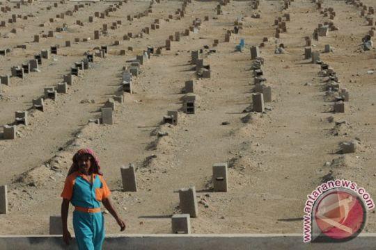 Tiga jamaah Indonesia kecelakaan di Madinah dimakamkan