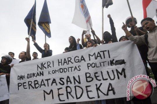 Pelajar di perbatasan Indonesia-Malaysia mendapat sosialisasi tentang perguruan tinggi