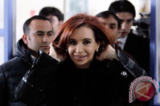 Cristina Fernandez kembali terpilih jadi Presiden Argentina