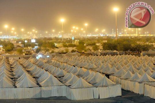 Tenda jamaah di Arafah akan lebih nyaman